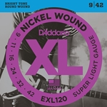 9-42 Super Light Nickel Wound Electric Guitar Strings Set